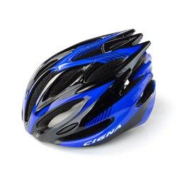 Шлем велосипедный Cigna WT-029 (серый/чёрный/синий)