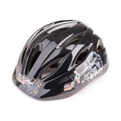Шлем велосипедный детский Cigna WT-021 (чёрный 2)