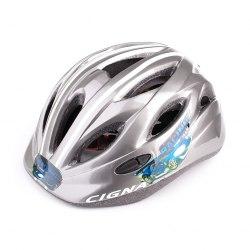 Шлем велосипедный детский Cigna WT-021 (чёрный/серый)