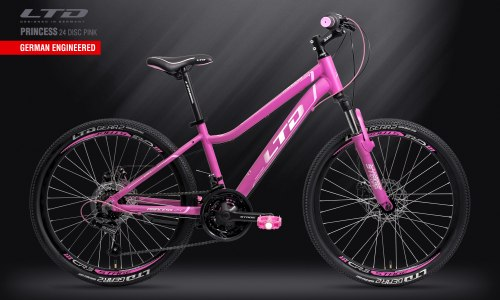 Велосипед LTD Princess 24 Disc Pink (2019)