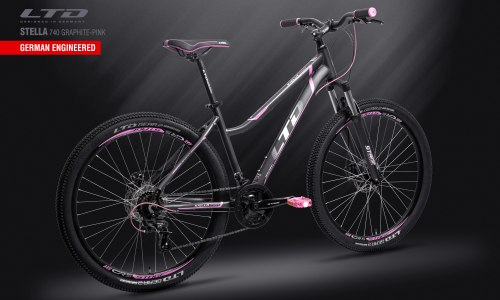 Велосипед LTD Stella 740 Graphite-Pink (2019)