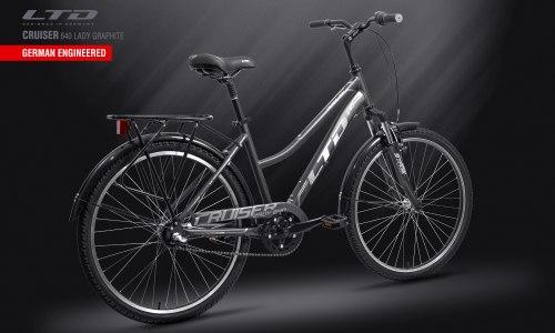 Велосипед LTD Cruiser 640 Lady Graphite (2019)