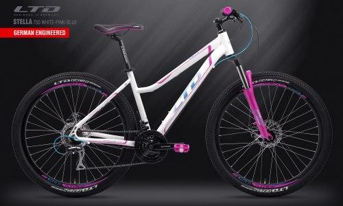 Велосипед LTD Stella 750 White-Pink-Blue (2019)