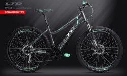 Велосипед LTD Stella 750 Graphite-Turquoise (2019)