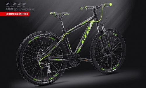 "Велосипед LTD Rocco 950 Black-Green 29"" (2019)"