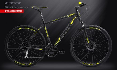 Велосипед LTD Crossfire 860 Black-Yellow (2019)