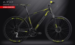 Велосипед LTD Crossfire 860 Black-Yellow (2019)