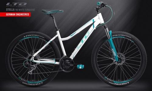Велосипед LTD Stella 760 White-Turquoise (2019)