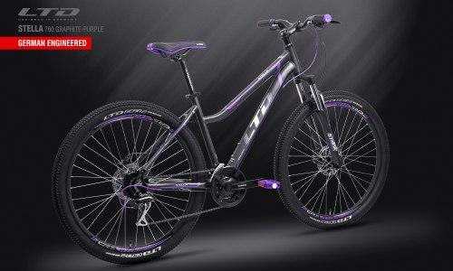Велосипед LTD Stella 760 Graphite-Purple (2019)