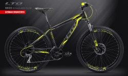 "Велосипед LTD Rocco 760 Black-Yellow 27.5"" (2019)"