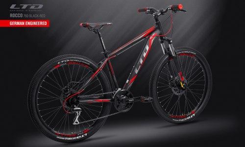 "Велосипед LTD Rocco 760 Black-Red 27.5"" (2019)"