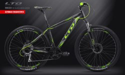"Велосипед LTD Rocco 750 Black-Green 27.5"" (2019)"