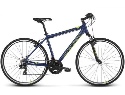 Велосипед Kross Evado 1.0 (синий, 2019)
