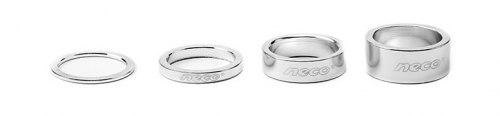 Проставочное кольцо Neco AS3602B Алюминий. 1-1/8; 10мм. Цвет серебристый