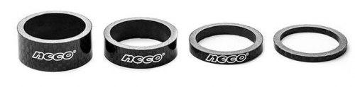 Проставочное кольцо Neco СS3503 Сarbon. 1-1/8; 3мм