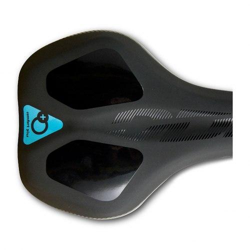 Седло DDK D102MF (чёрный/серый/синий) Memory foam
