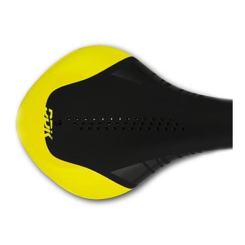 Седло DDK D9019 X5 (чёрный/жёлтый)