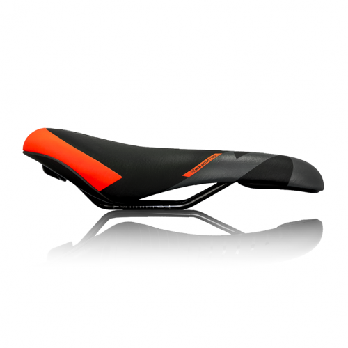 Седло DDK SA5311 (чёрный/серый/оранжевый)