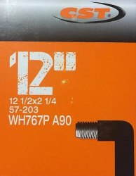 """Камера CST 12""""x1/2x2 1/4 WH767 SV (Изогнутый ниппель)"""