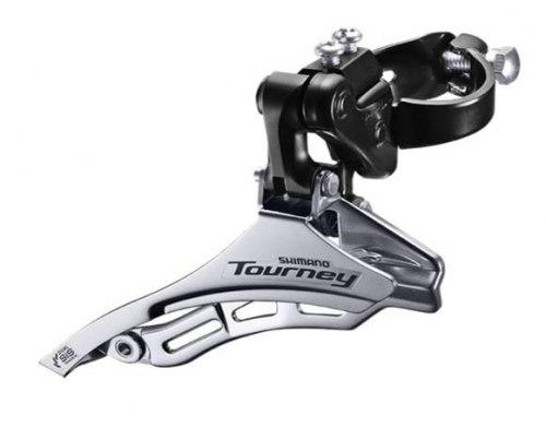 Переключатель передний Shimano Tourney, TY300, нижн. тяга, хомут 28,6, уг.:66-69, для 42T