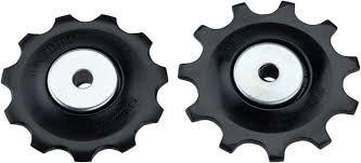 Ролики переключателя Shimano 10ск, верхн+нижн, к RD-M6000, для GS