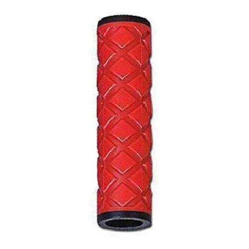 Грипсы HY-306-3 L-115 (чёрный/красный)