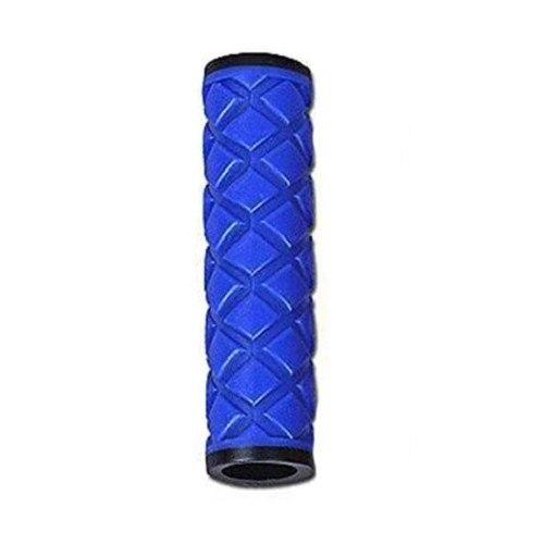 Грипсы HY-306-3 L-115 (чёрный/синий)
