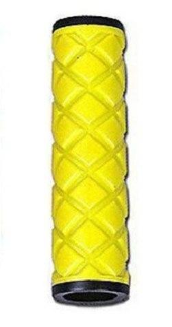 Грипсы HY-306-3 L-115 (чёрный/желтый)