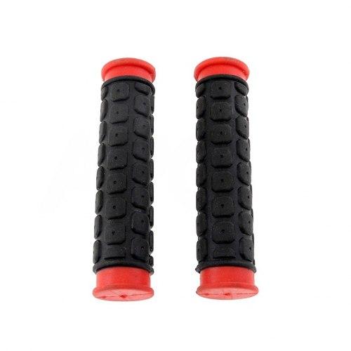 Грипсы 2K HW 145267A L-120 (чёрный/красный)