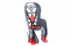 Кресло велосипедное детское HTP FRAACH P (серебристый)