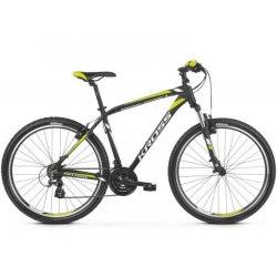 Велосипед Kross Hexagon 2.0 27.5 2019 (черный/лимон)