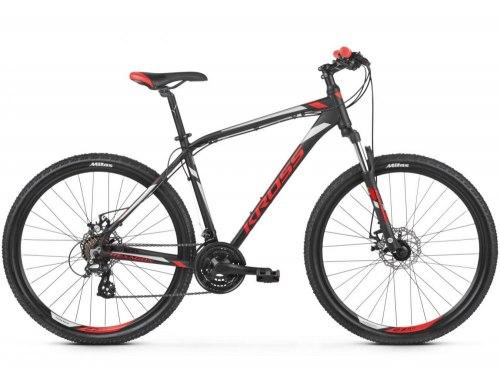 Велосипед Kross Hexagon 3.0 26 2019 (черный/красный)