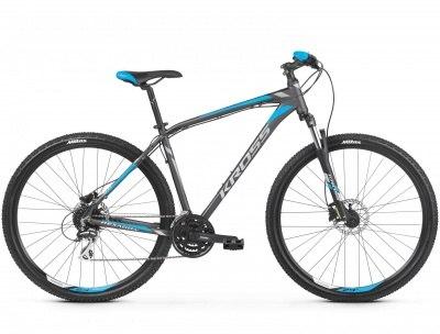 Велосипед Kross Hexagon 5.0 27.5 2019 (графит)