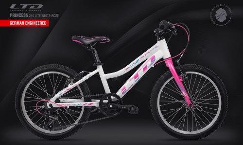 Велосипед LTD Princess 240 Lite White-Rose