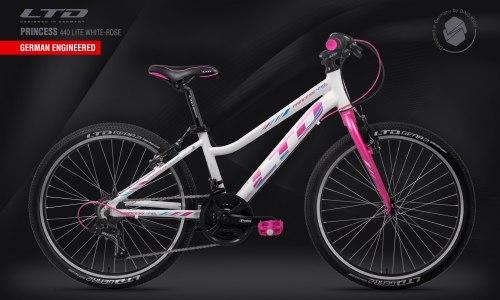 Велосипед LTD Princess 440 Lite White-Rose