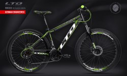 Велосипед LTD Rocco 740 Black-Green