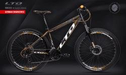 Велосипед LTD Rocco 740 Black-Orange