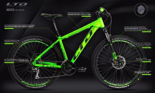 Велосипед LTD Rocco 760 Neon-Green