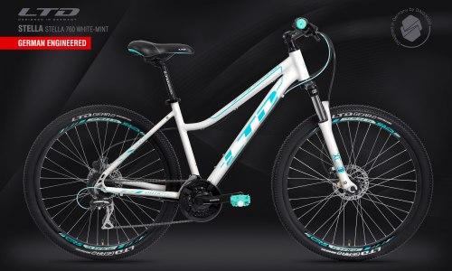 Велосипед LTD Stella 760 White-Mint