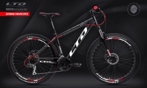 Велосипед LTD Rocco 950 Black-Red