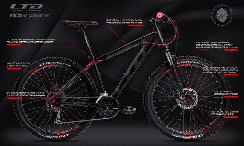 Велосипед LTD Rocco 970 Monochrome