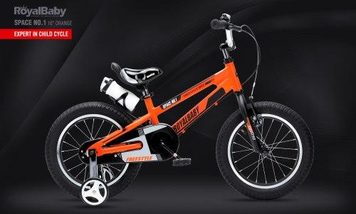 """Велосипед RoyalBaby Space No.1 16"""" Orange (2020)"""