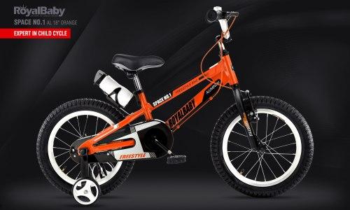 """Велосипед RoyalBaby Space No.1 Al 18"""" Orange (2020)"""