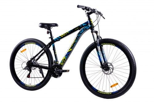 Велосипед Krakken Flint 29 (Чёрный)