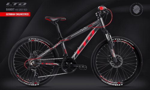 Велосипед LTD Bandit 440 Grey-Red