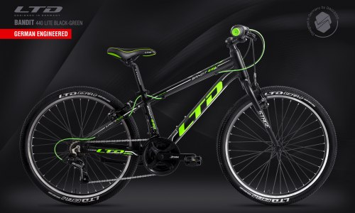 Велосипед LTD Bandit 440 Lite Black-Green
