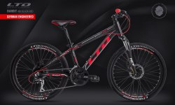 Велосипед LTD Bandit 460 Black-Red