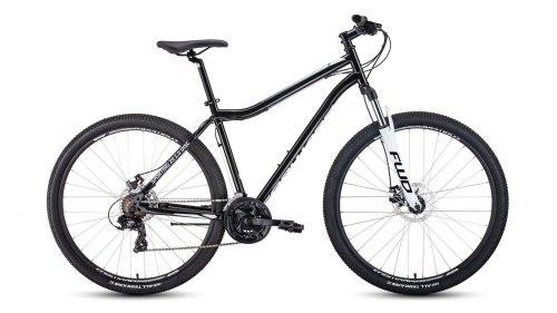 Велосипед Forward SPORTING 29 2.0 disc (черный/белый)
