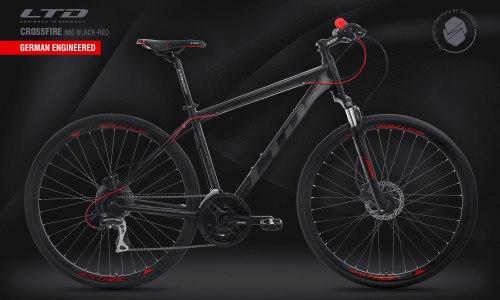Велосипед LTD Crossfire 860 Black-Red (2020)