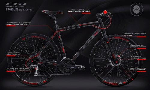 Велосипед LTD Crosslite 860 (2020)